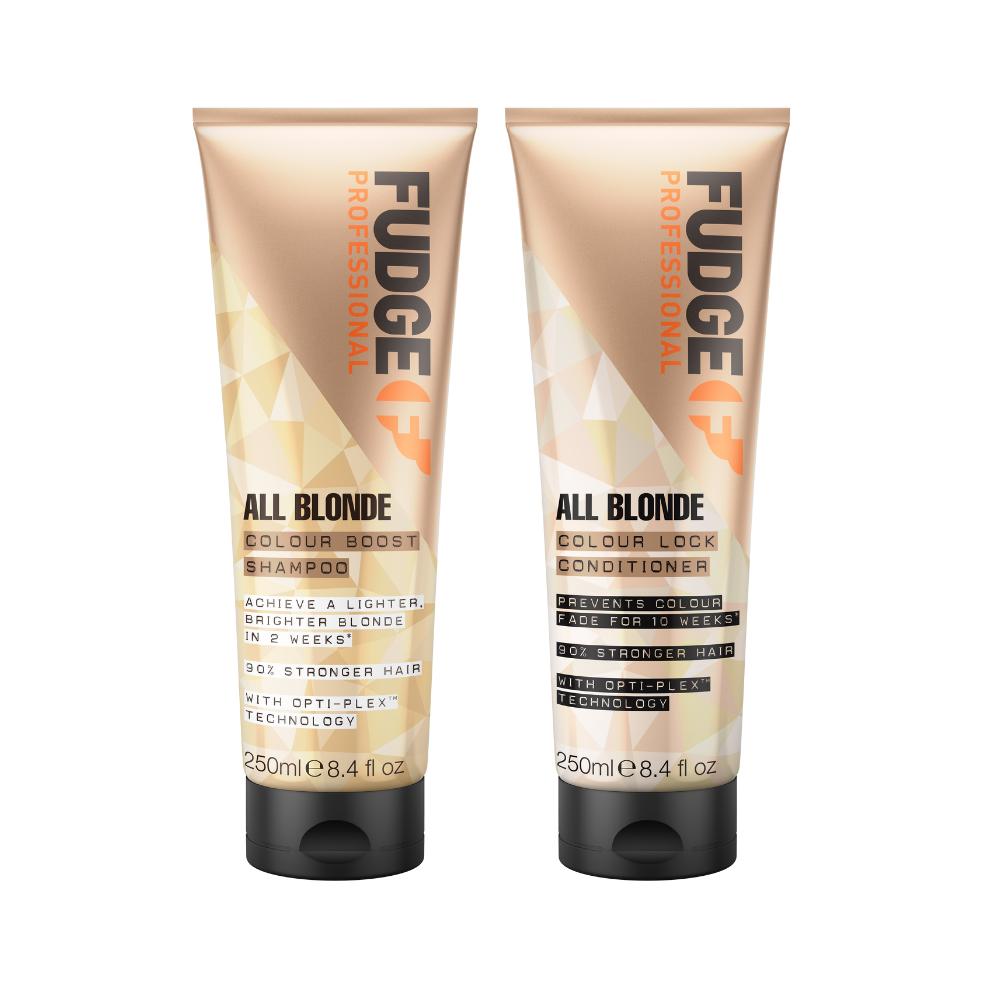 FUDGE All Blonde - Hajszínvédő duó