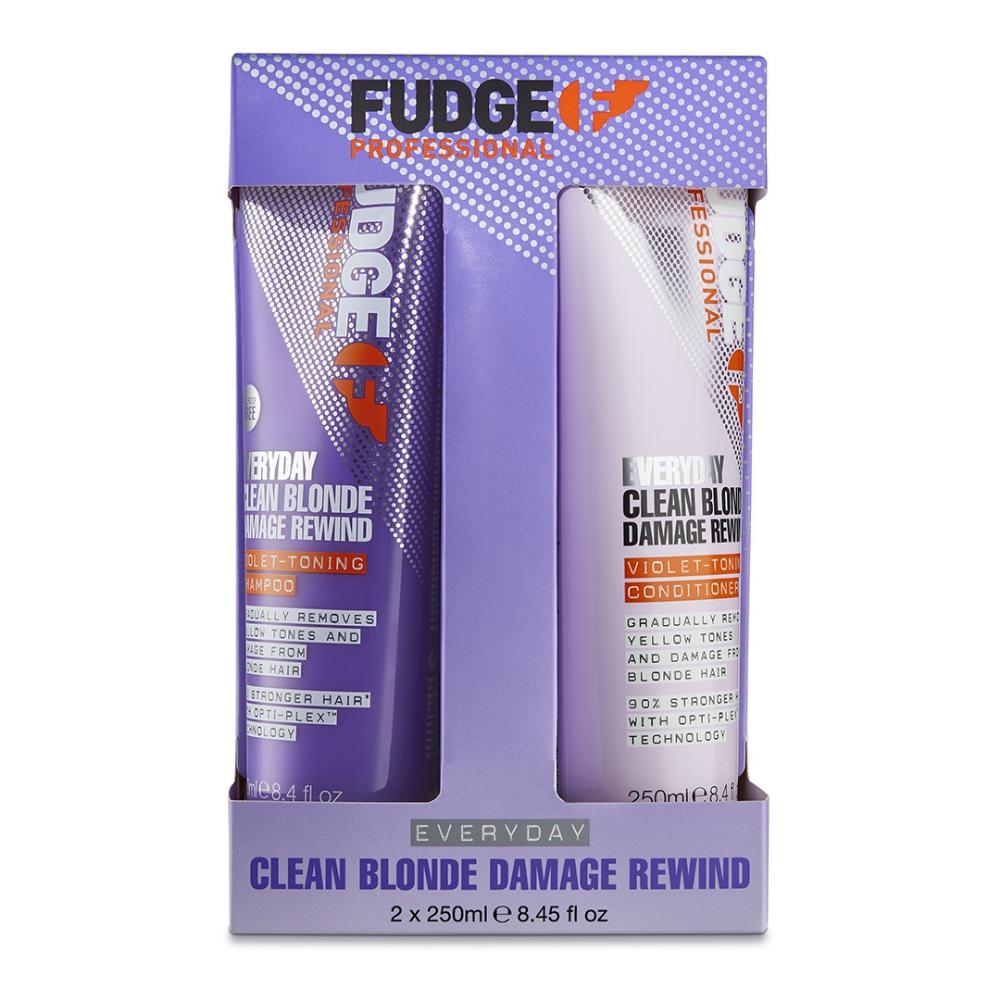 FUDGE Everyday Clean Blonde Damage Rewind Duó 2x250ml