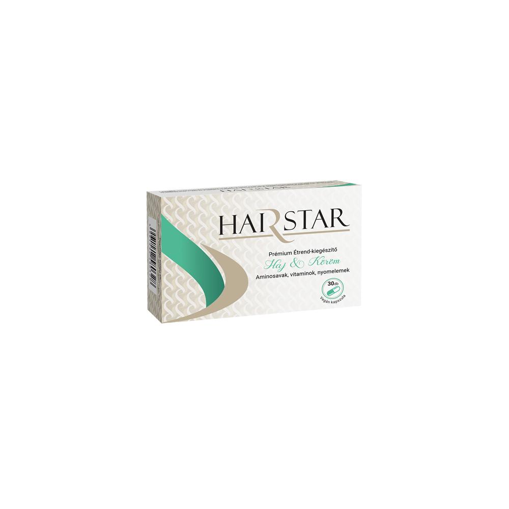 HAIRSTAR Premium Étrend-kiegészítő -  Haj és köröm (30 db)